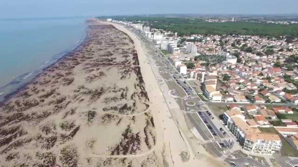 La plage de Saint-Jean-de-Monts